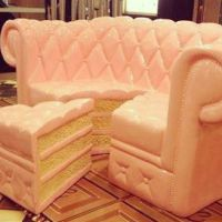 Cake couch! Or is it a couch cake? Either way its super ...