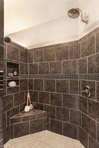 Greatest #Shower Ever! Walk-in shower with no door, 2 ...