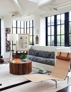 Modern penthouse condo in virginia by design milieu also penthouses rh pinterest