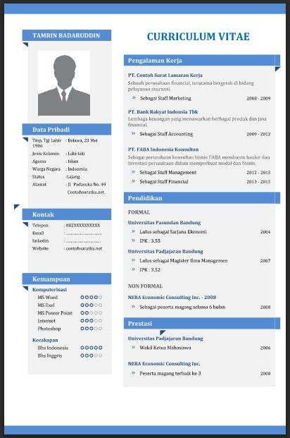 Clean Cv Resume Html Template Free Download Resume