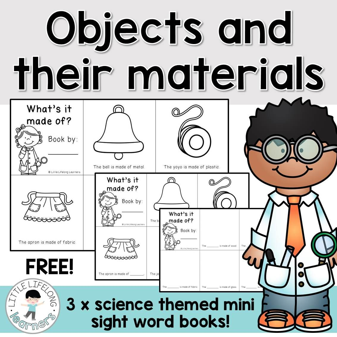 Review The Materials That Familar Objects Are Made From
