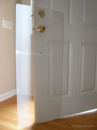 Protect doors from scratching dogs. Going to try making my ...