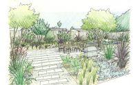Beautiful Landscape Design Sketch Garden Design Sketch