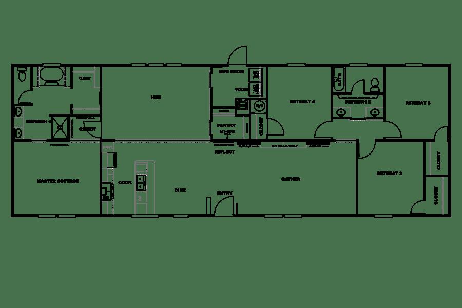 Floorplan THE BREEZE II