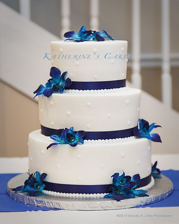 Ribbon Wedding Cake Decorations