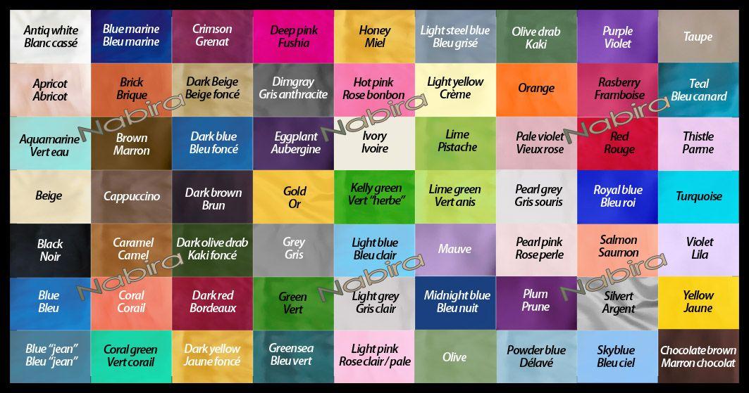 noms des couleurs en franais  Outils  Pinterest  Colors and Colour