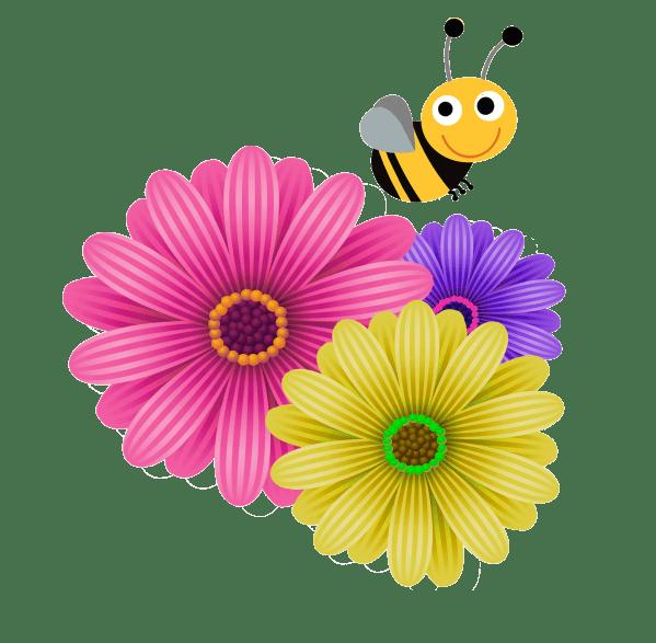Transparent Graphic Design Flowers