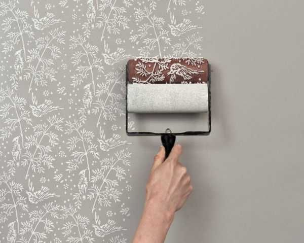 Creative Painting Ideas And Patterned Paint Rollers From The