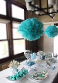 Tiffany Blue Themed Baby Shower!   Baby Shower Ideas ...