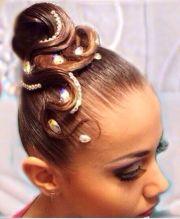 ballroom #hairstyle - kinda