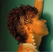 create and style flat braided