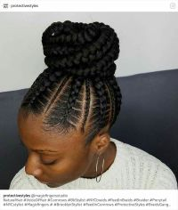 Stunningly Cute Ghana Braids Styles For 2017