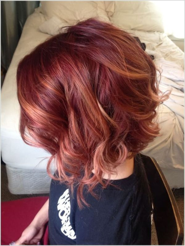 30 Short Hairstyles For Red Hair Highlight Hairstyles Ideas