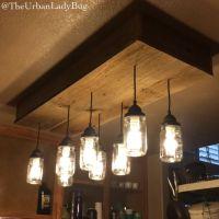 How to Make a Mason Jar Chandelier | Diy light, Diy light ...