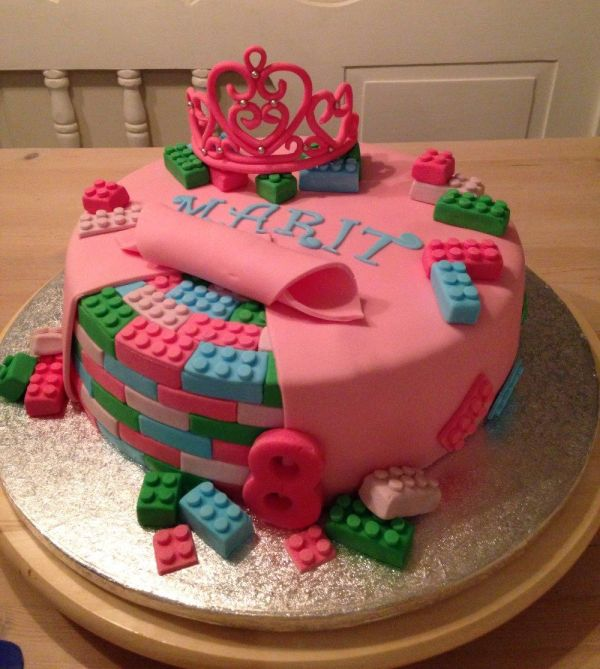 LEGO Birthday Cake Ideas For Girls
