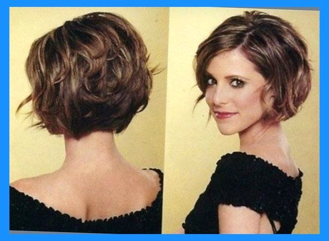 12 Feminine Short Hairstyles For Wavy Hair Easy Everyday Hair Chin