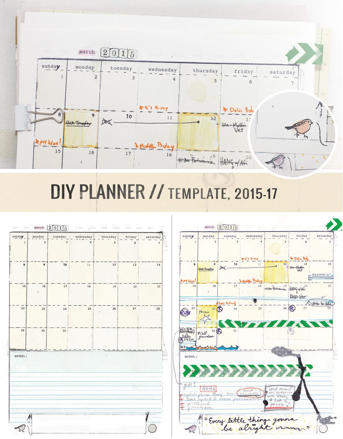 Make Your Own Awesome Planner Yeah Diyplanner