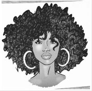 result kinky curly drawing