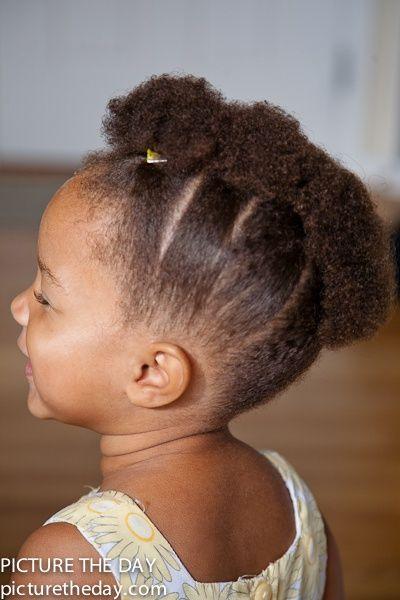 Hairstyles For Black Girls Kids Love The Fro Hawk Black Women