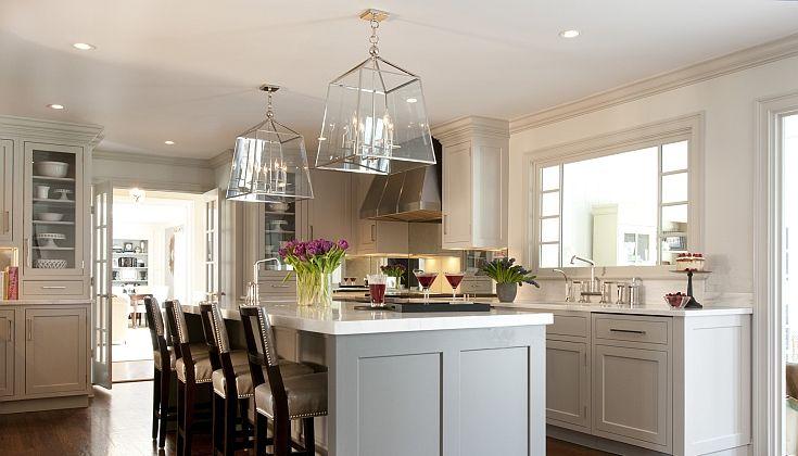 Kitchens by Deane  kitchens  gray kitchen island gray