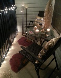 pretty decorating ideas for your patio also balcony decoration rh pinterest