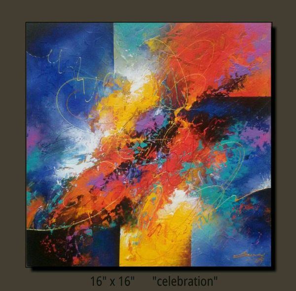 Abstract Acrylic Painting Fine Art