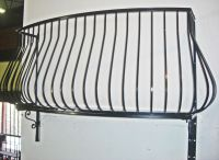 Wrought iron Balconies. Pot belly wrought iron balcony ...