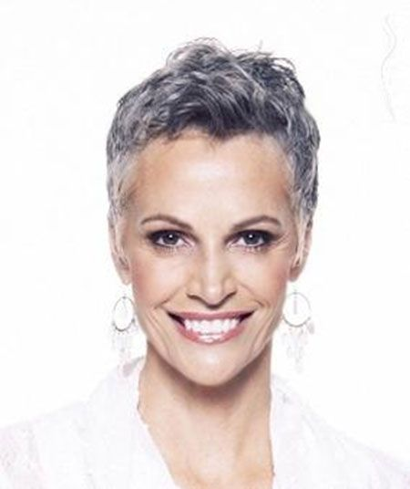 50 Shades Of Grey Hair Trends And Styles Grey Women Short