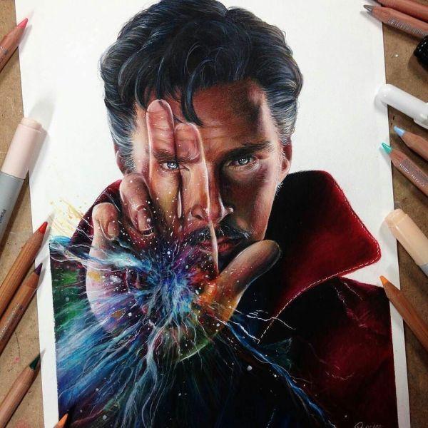 Pin Amber Wade Drawings Marvel Comics Art Doctor Strange