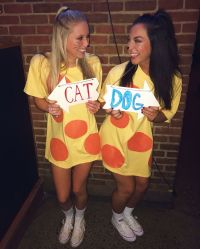Cat dog costumes // college Halloween | OU | Pinterest ...