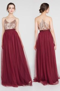 Two Pieces: Bridesmaid Tops Starting From $19.9, Skirts ...