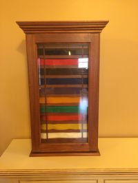 Tae kwon do belt display case. Karate belt display case ...