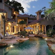 Dream Houses with Pool Back Yard
