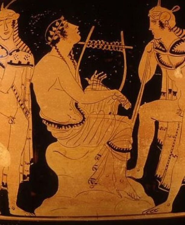 Image result for Ancient Greek Orpheus