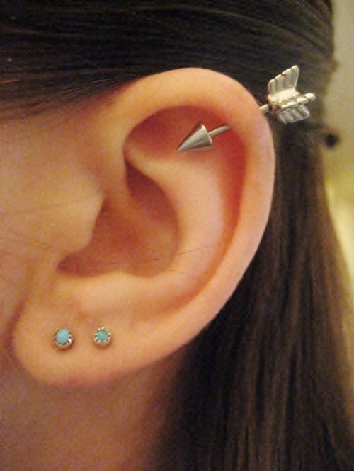 25 Awesome Helix Piercing Jewelry Inspirations  Helix