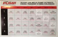 Les Mills PUMP Cross Training Hybrid Calendar | Fitness ...
