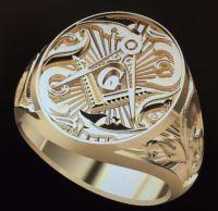 The Windsor Gold Masonic Ring | Freemasonry | Pinterest ...