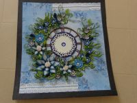 quilling wall clock   quilling   Pinterest   Quilling ...
