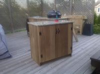 Incomparable Charcoal Outdoor Kitchen Island And ...