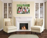 "Sample Wall Sized Canvas or Print for over fireplace 30""x ..."