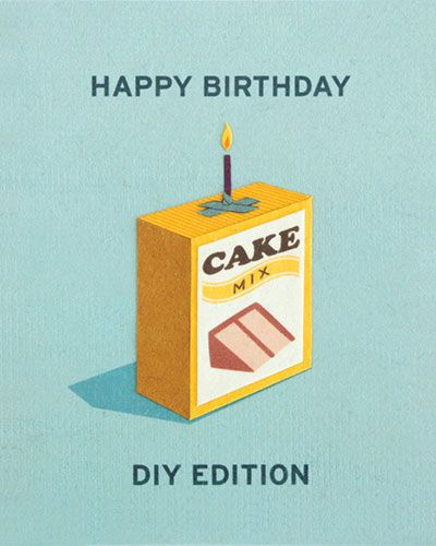 Clever #DIY Birthday Card Unique Greeting Cards