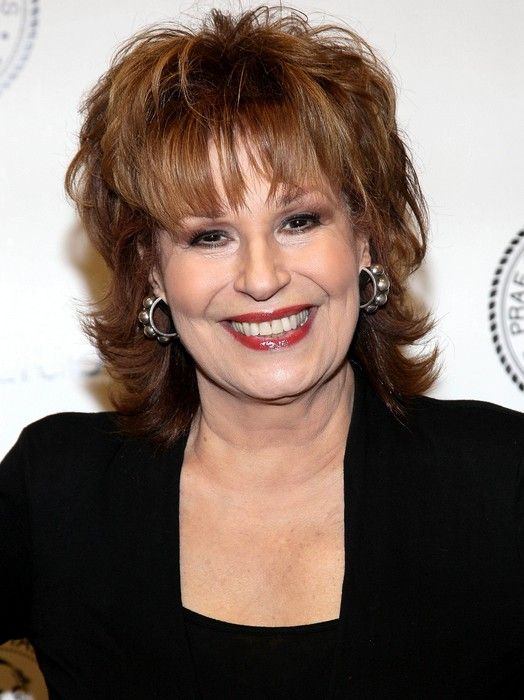 Layered Medium Hairstyle For Women Over 60 Joy Behar Hairstyles