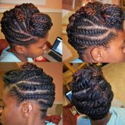 chunky flat twist updo stacey