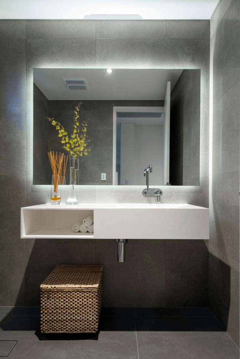 27 Trendy Bathroom Mirror Designs of 2017  Bathroom