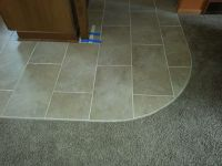 Transition From Carpet to Tile | Tile | Pinterest ...