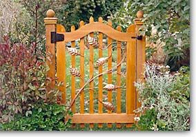 Wooden Garden Gates Home Design Photos Beautiful Garden Gates