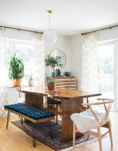 suburban home gets contemporary bohemian makeover also famous rh pinterest