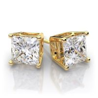 Gold Diamond Earrings For Men