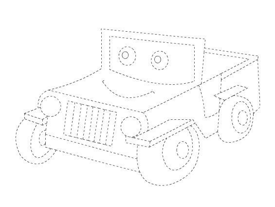 Truck Worksheet Preschool Line Tracing. Truck. Best Free