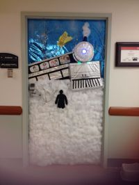 Polar express door decorating contest